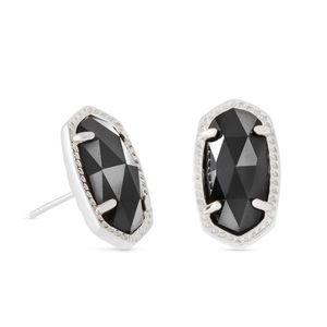 New Ellie Kendra Scott Black Stud Earrings