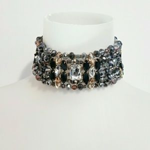 ALDO Jeweled Choker