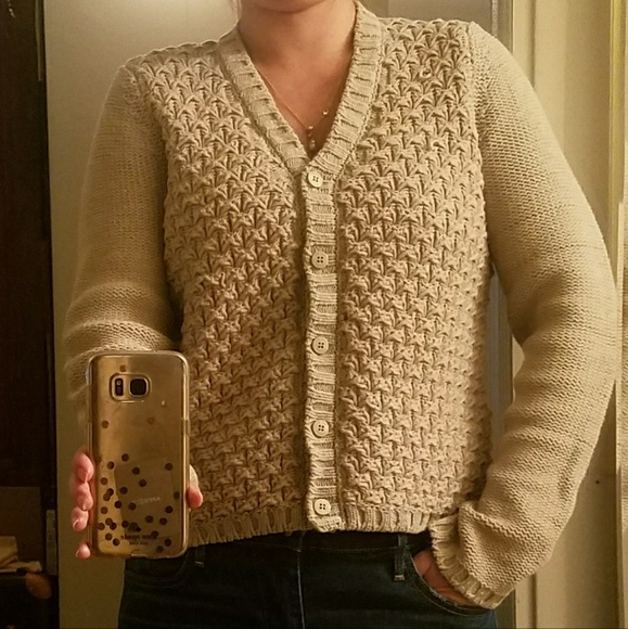 b1d98b8b See by Chloe chunky knit cardigan made in Italy