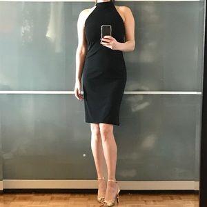 Move Out Sale. Elegant halter neck cocktail dress