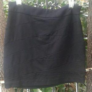 Vivienne Tam sexy little black skirt size 10