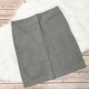 CLUB MONACO gray A-line skirt size 4 EUC