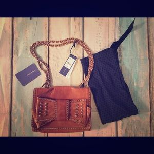 🎄NWT Rebecca Minkoff Sweetie 💯% Leather Handbag
