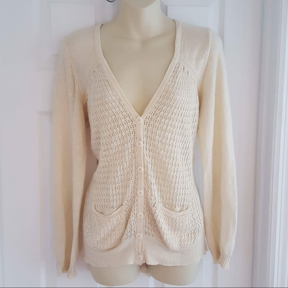 Anthropologie - Sparrow cream color cardigan sweater from Chris's ...
