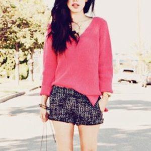 Zara V Neck Knit Sweater