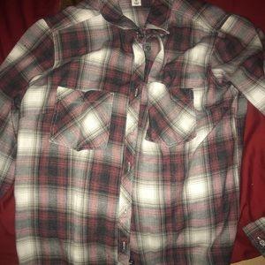 Adam Levine plaid shirt