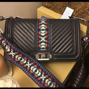 Jacquard Love Crossbody Bag by Rebecca Minkofff