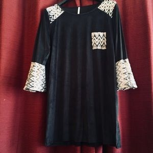 💕auditions woman's holiday mini/tunic long/lace