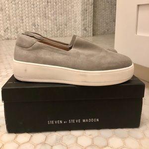 Grey Steve Madden Shoes