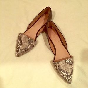 Madewell D'Orsay sz. 7.5. Only worn a few times.