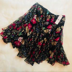 Ralph Lauren Floral Flowing Skirt
