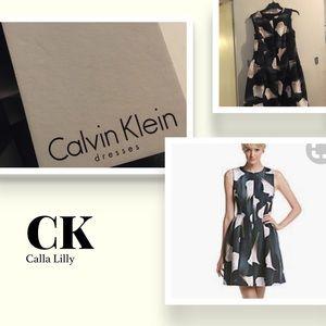 👗🖤Calvin Klein Calla Lilly Dress💃🏼🔲