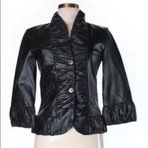 XCVI Leather jacket