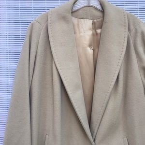 Vintage Cashmere Winter Coat