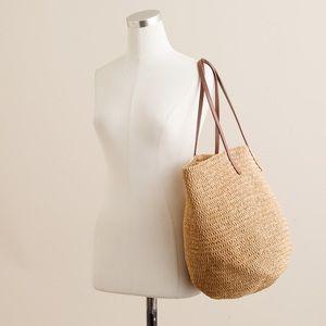 Straw Market Tote Bag