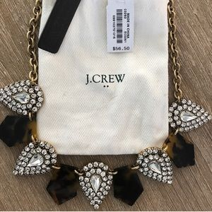 *NEW* J. Crew Tortoise Statement Necklace