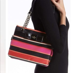 Kate Spade Patent Leather ZIP Davy Bag