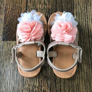 Toddler Girls Flower Sandals
