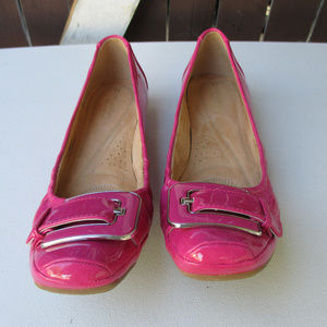 NATURALIZER PINK PATENT LEATHER 8.5