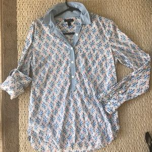 Fun Patterned Button Down