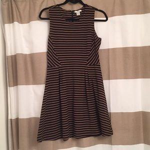 Bar III striped dress