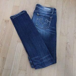Rerock Jeans for Express Skinny Size 2 Long