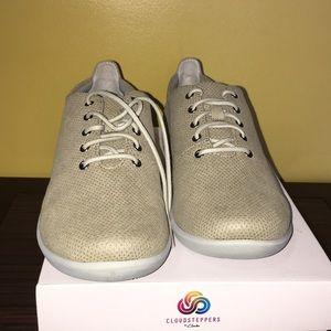 CLARKS CLOUDSTEPPERS SILLIAN TINO SAND TEXTILE 9M
