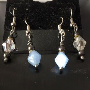 Modern earring set