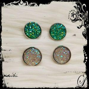 Radiant Druzy earrings