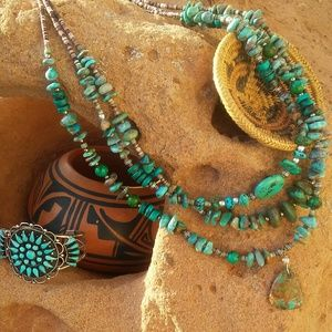 Native Turquoise Necklace