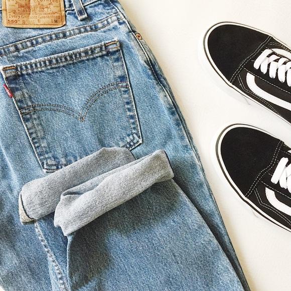 Levi's Denim - Vintage Levi's 550 High Waist Jeans