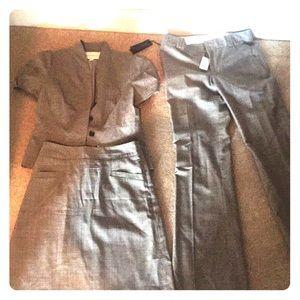 3 piece Banana Republic Suit. Skirt,  blazer, pant