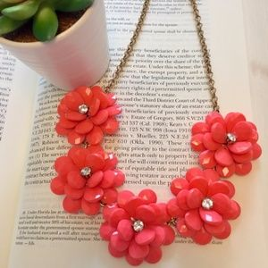 J. Crew Factory - Floral Statement Necklace