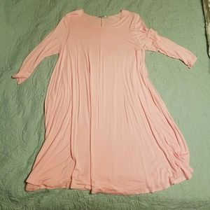 Pink swing dress xl