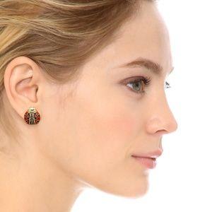 Brand New Kate Spade Ladybug Post Earrings