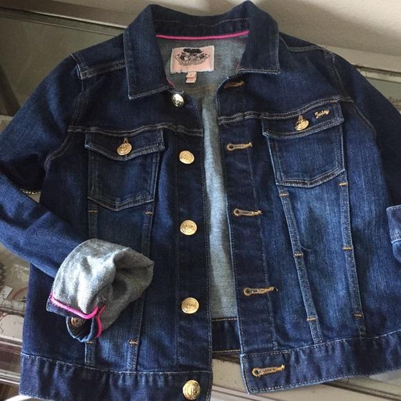 72283276e41f Juicy Couture Jackets & Coats | Girls Stretch Denim Jacket | Poshmark