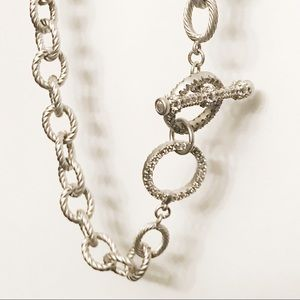 Freida Rothman cable necklace (one of a kind)