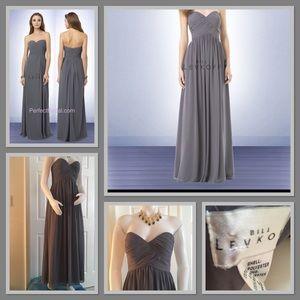 Bill Levkoff Bridesmaid Dress - style 776 sz4