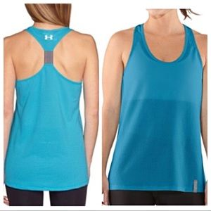 {Under Armour} Fly By Mesh Run Tank