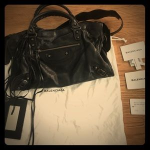 Balenciaga Classic City Bag Black