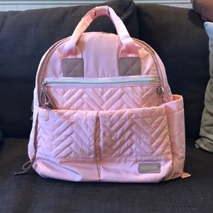 Skip Hop Exclusive Diaper Backpack - Blush