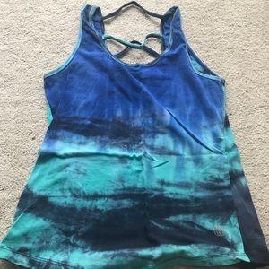 Tie dye workout tank *size medium*