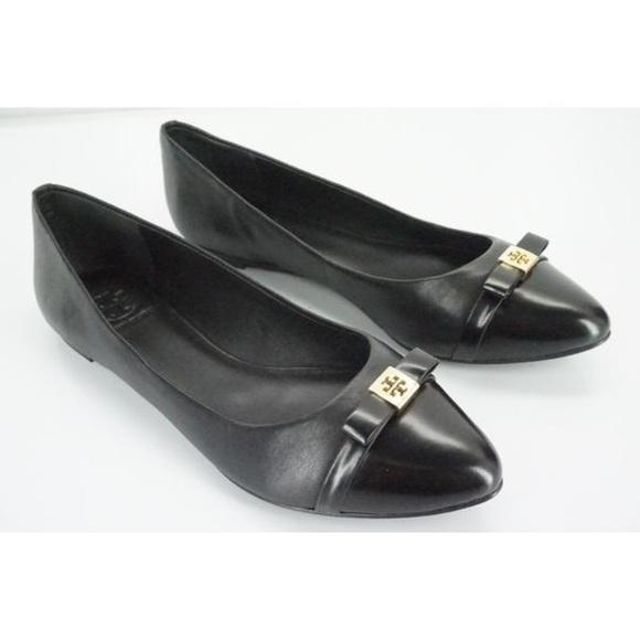 a88f65e5c65 🌸Tory Burch🌸 Hugo Black Ballet Flat. M 5a144967680278c52301bd53