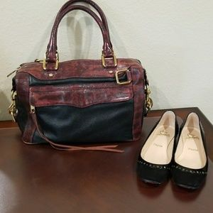 Authentic Rebecca minkoff morning bag