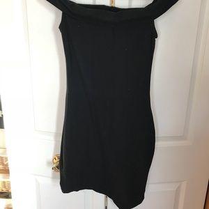 Off the Shoulder A-line Dress