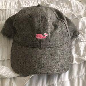Grey Wool Vineyard Vines Hat