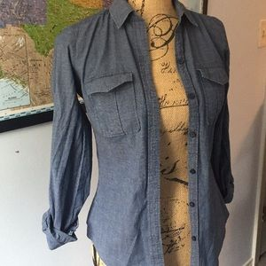 LOFT Chambray Shirt