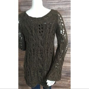 80% off Free People Sweaters - Free People oversized chunky Cable ...