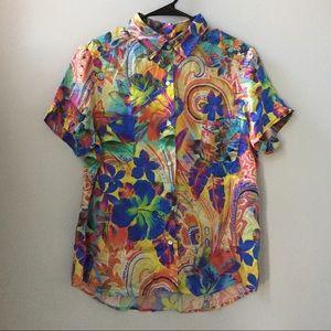 Funky Silk Hawaiian Shirt