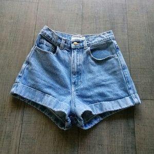AA / high waist shorts